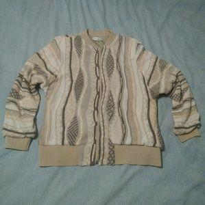 Vintage 1980s bomber sweater